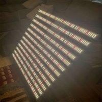 وعكس الضوء الصمام تنمو سامسونج الكم لوحة مصباح النباتية مجلس الطيف الكامل 12bars ضوء 960W مع التحكم عن بعد لمحطات الإضاءة في الأماكن المغلقة