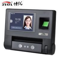 controlo de acesso de reconhecimento da impressão digital facial máquina de atendimento dispositivo biométrico