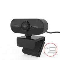 HD 1080p Webcam Mini Computer PC WebCamera com microfone rotativo câmeras para transmissão ao vivo de vídeo chamada Conferência de Trabalho JK2008KD