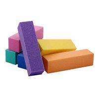 Archivos de uñas 5 PCS Multi-Colors Art Buffer Bloque de archivo Pedicura UV Gel Buffing Lijado Pulerador 4 Sales Tips Sponge TF29
