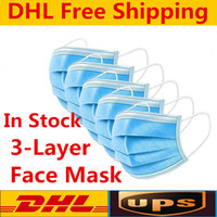 12 hours Ship! DHL free shipping 3- 7 days Disposable face ma...