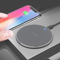 Handy-Wireless-Ladegerät 10 7.5 5 w Quick Wireless Charging Pad für ios Samsung Huawei Xiaomi