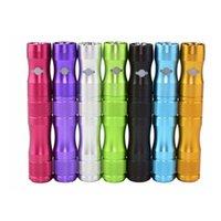 bateria X6 1300mAh bateria de tensão variável cigarro eletrônico ajuste eGo 510 fios mod atomizador vaporizador erva seca vape caneta vape