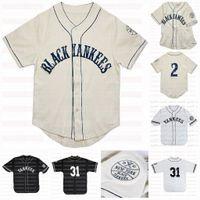 Big Boy Black Custom NLBM NGRO LEAGAS Jersey de béisbol Nombre Stiched Numbered Número rápido Envío rápido Alta Calidad Negro Blanco Color Color