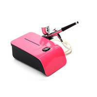 Airbrush Kit de maquillage avec compresseur d'air DC air Brosse Pistolet Maquillage de visage Peinture de décoration de gâteau Akvagrim outil de maquillage