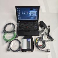 Diagnóstico Estelar SD Compact Connect 4 MB C4 com software V2020.12 HDD 320GB com laptop T410 4G Pronto para uso