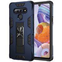 Ударопрочный Kickstand телефон чехол для LG Harmony 4 Aristo 5 Stylo 6 Stylo 5 K51 TPU + PC Hard Вернуться Caver