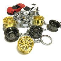 키 체인 림 자동차 튜닝 휠 키 체인 키 링 브레이크 디스크없이 타이어 자동 체인 열쇠 고리