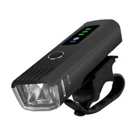 LED USB ricaricabile Super Bright impermeabile del faro anteriore si illumina, per supporto a 4 tempi Lights Light Mode si adatta a tutte Bikes