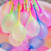 01balloon Magic Waterball Balloon Happy Douyin Water Bouncing بالون التلقائي المعقود لعبة الأطفال لعبة مختلطة الكرة السعيدة 111 حزمة