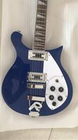 Por mayor a medida nueva Ricken 330 modelo de calidad superior de la guitarra eléctrica azul, envío libre
