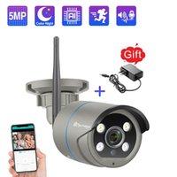 Mini Kameralar Techage ICSee 1080 P 2MP 5MP Kablosuz Kamera Güvenlik WIFI IP IP İki Yönlü Ses AI CCTV Video Açık Gece Görüş TF Kart P2P