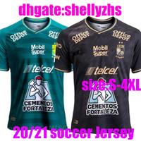 Büyük Boy: XXXL XXXXL Yeni 20 21 Meksika Leon F.C. Futbol Forması 2020 Liga Mx Club Leon Ev 3rd Futbol Gömlek