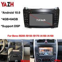 Android 10.0 DVD de voiture Lecteur multimédia Radio Navigation GPS pour Mercedes Benz B200 A B Classe W169 W245 Viano Vito W639 Sprinter W906
