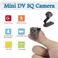 Mini cámaras HD 1080p Cámara SQ8 ESPIA Pollado Portátil Pequeña Videocámara DV digital con visión nocturna Deporte Casco inalámbrico Bicicleta Micro Cam