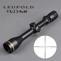 Leupold VX-2 3-9x40mm Riflescope Тактическая винтовка Охота Охота Охота Снайповка Sniper Sear W / монтирование