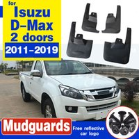 Mudflap Fender Mud Guard Splash Flap Mudguards Accessories For Isuzu D-Max 2-doors 2011~2019 2012 2013 2014 2015 2016 2017 2018