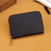 2020 무료 배송 도매 여성 긴 짧은 지갑 여러 가지 빛깔의 동전 지갑 카드 홀더 원래 여성 클래식 지퍼 pocke 0011