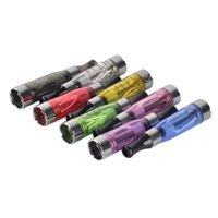 Atomizador CE4 1.6ml 2.4OHM TANQUE DE VAPOR EGO Clearomizer Cigarrillo electrónico para 510 Batería de roscado 4 Bobina de mecha