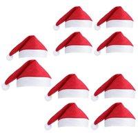 Decorazioni natalizie Babbo Natale Cappelli Regali per bambini Forniture per feste Goccia di supporto per adulti