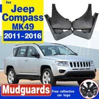 Auto-Front-Hinterrad-Mudflap für Jeep Kompass 2011 ~ 2016 MK49 Fender Mud Guard Splash Flap Mordguards Zubehör 2009 2009