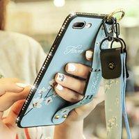 Nuova cinghia cinturino per iPhone 12 11 Promax 11 12Pro XR XSMax 6PLUS 7 8Plus Soft Silicone Stacket TPU Telefono Cellulare posteriore Copertura posteriore