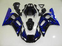 Kit de carénage 7Free pour Yamaha YZF600 YZF R6 600 98 99 00 01 02 1998 1999 2000 2001 2002 Corps de carrosserie Corps