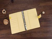 A6 PU Notebook Binder 4 cores Pasta de arquivo para escola solta-folha capa de notebook sem dentro páginas School Material A07