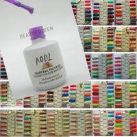 223 Цвета можно выбрать Nail Art UV Цветной гель Польский Польский впитается для УФ-светодиодной лампы Один шаговый гель 15 мл 5 унций Новый профессионал