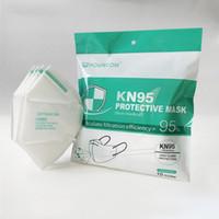 POWECOM KN95 Gesichtsmasken 5-Schicht-PM2.5-Antistaub Haze Smog Ohrbügel Schutz Mund-Maske mit Certified Qualifikation durch DHL schnelles Verschiffen