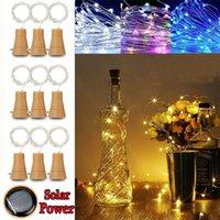 1M 10LED FILO DI RAME luci della stringa sughero del tappo della bottiglia a forma di luce Compleanno Matrimonio Natale di Halloween Bottiglia luce della stringa Decor