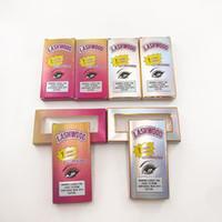Kaset olmadan Sıcak Satış Yumuşak Kağıt Kirpik Box Packaging Lashwood Kirpikleri Dramatik Lashes için Box boşaltın