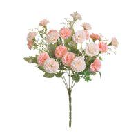 Dekorative Blumen Kränze 1 Stück 20 Köpfe Hortensie Gefälschte Seidenblume Home Party Garten Dekor kleine Flieder