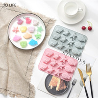 JO LIFE Cartoon Silicone Cake Decoration Tool Fish Starfish ...