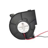 Fani Chłodzenie High-Speed 7530 Wentylator 12 V Projektor Turbofan Dmuchawy Chłodzenie 75 * 75 * 30mm Haykea7530