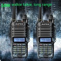 2020 uv9r, plus étanche talkie-walkie 10w Baofeng uv 9R plus avec 4800mAh radio à deux voies comunicador uhf vhf Radio cb jambon px fm