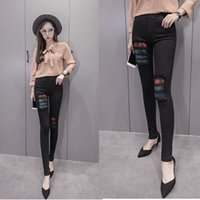 2020 New Spring   Summer Jeans Women's High Waist Stretch Hip Slim Denim Pants Fit Skinny Skinny Feet Points Pencil Trousers M85