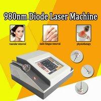 Новый Porduct Портативный Грибок ногтей Лечение 980nm диодный лазер Сосудистый Поражения терапии 980nm 2W диодный лазер машина
