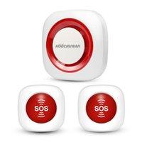Alarmsysteme Koochuwah GSM-System SOS Not-Not-drahtlose Panik-Taste SMS ältere Sicherheit für schwanger / gedinderter