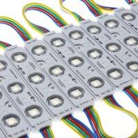 Alta qualidade 5050 RGB 3LEDs Injection Módulo Luz DC12V 20 Lumen / LED de luz de publicidade LED à prova d'água para o canal Letters letra do sinal