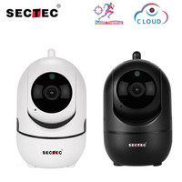 SECTEC 1080P Cloud Wireless IP-Kamera Intelligente Autoverfolgung von Human-Home-Sicherheitsüberwachung CCTV-Netzwerk Wifi Cam