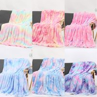 Sofá de la manta del arco iris pendiente del arco iris ropa de cama Sofá Cover Adultos Niños caliente suave manta del tiro del sofá del sofá del edredón