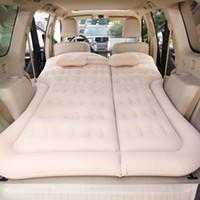 SUV نفخ سيارة فراش السفر السيارات سرير متعدد الوظائف للنفخ قابل للتعديل فراش الهواء غطاء مقعد وسادة الهواء الطلق للأطفال