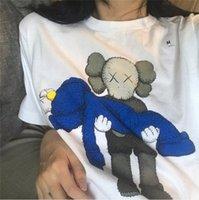 새로운 연인 셔츠 CIN 남자 여성 캐주얼 티셔츠 반팔 SESAME STREET L 패션 의류 티는 티 품질을 꼭대기 오래 간다
