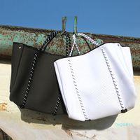 Designer- NEW فاخر النسيج الغوص النيوبرين حقيبة تنفس الكتف ذات قدرة كبيرة العلامة التجارية عارضة حمل حقيبة الأعلى مقبض حقائب حقائب الكتف