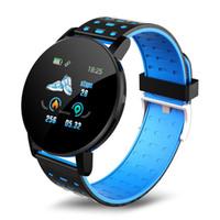 Relógio inteligente 2020 homens 119Plus de Fitness Assista Mulheres Smartwatch impermeável inteligente Relógios Magia banda para Android IOS aptidão Rastreador