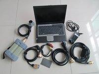 ferramenta de diagnóstico conjunto completo de cabos estrela c3 do mb com o mais novo software 120GB SSD super com 4g laptop D630 pronto para uso