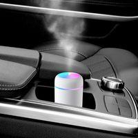 Mini Humidificateur Portable Humidificateur d'air ultrasonique essentielle douce lumière colorée huile Diffuseur Monsieur Purificateur Cool Car Maker Mist