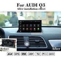 Android 10 Araba DVD Multimedya Oynatıcı 7.0 inç Ile Dokunmatik Ekran Audi Q3 2011-2018 Radyo GPS Navigasyon Stereo WiFi Bt Mirrolink