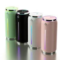 Mini umidificatore ad ultrasuoni Aroma olio essenziale diffusore di aromaterapia creatore della foschia 4COLOR Umidificatori USB portatile per Home Auto Camera